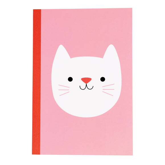 COOKIE THE CAT A5 NOTEBOOK-Poppy Stop-Poppy Stop