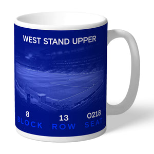 Chelsea FC My Seat in Stamford Bridge Mug