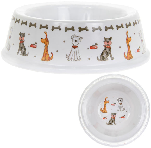 Dog Bowl - Faithful Friends-Poppy Stop-Poppy Stop