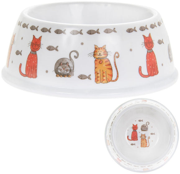 Cat Bowl - Faithful Friends-Poppy Stop-Poppy Stop