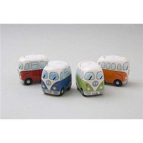 CAMPERVAN TEA LIGHT HOLDER-Poppy Stop-Poppy Stop