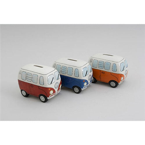 CAMPERVAN MONEY BOX-Poppy Stop-Poppy Stop