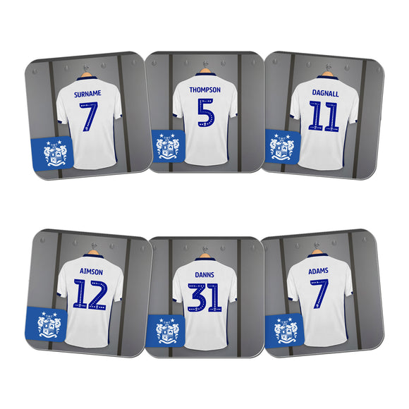 Bury FC Dressing Room Coasters