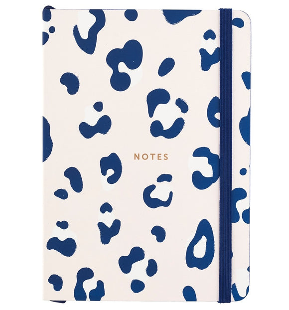 BUSY LIFE NOTEBOOK - A6 PAPER LEOPARD PRINT-Poppy Stop-Poppy Stop