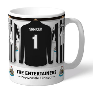 Newcastle United FC 'The Entertainers' Dressing Room Mug