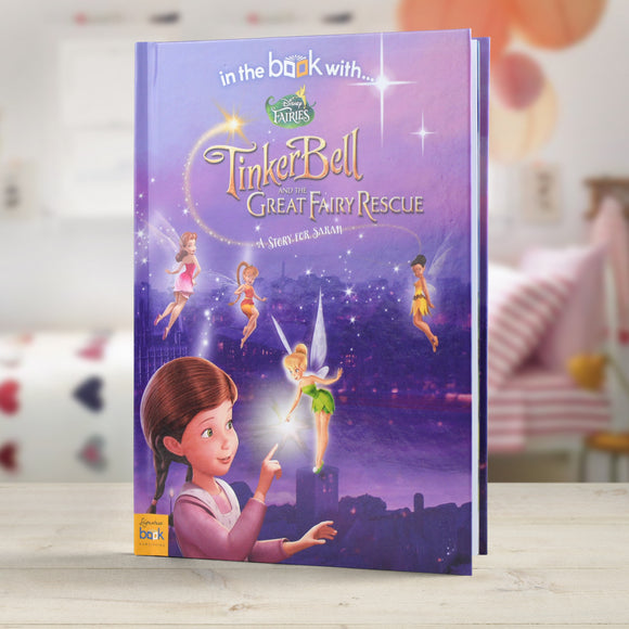 Personalised Disney Fairies Story Book-Poppy Stop-Disney Fairies - Softback-Poppy Stop