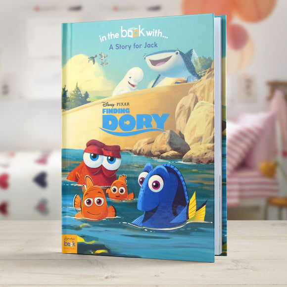 Personalised Disney Finding Dory Story Book-Poppy Stop-Finding Dory - Softback-Poppy Stop