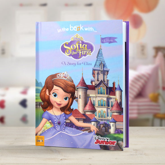 Personalised Disney Jr Sofia the First Story Book-Poppy Stop-Sofia the First - Softback-Poppy Stop
