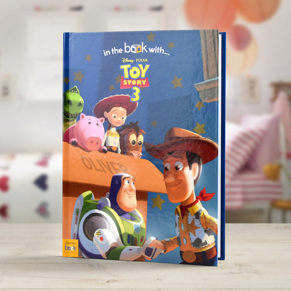 Personalised Disney Toy Story 3 Story Book-Poppy Stop-Toy Story 3 - Softback-Poppy Stop