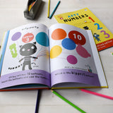 Personalised Arty Mouse Numbers Activity Book