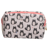 Feline Fine Cat Toilette Makeup PVC Wash Bag-Poppy Stop-Poppy Stop