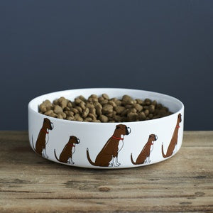 BOXER DOG BOWL - SWEET WILLIAM DESIGNS-Poppy Stop-Poppy Stop