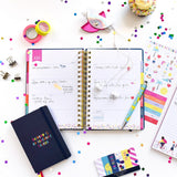BUSY LIFE NOTEBOOK - A6 PAPER VIBRANT VIBES - BUSY B-Poppy Stop-Poppy Stop