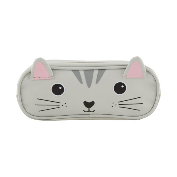 NORI CAT PENCIL CASE-Poppy Stop-Poppy Stop