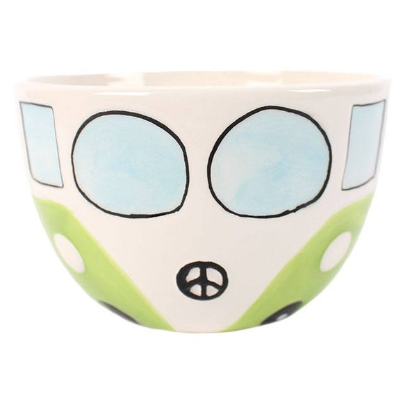 Campervan Bowl - Green-Poppy Stop-Poppy Stop