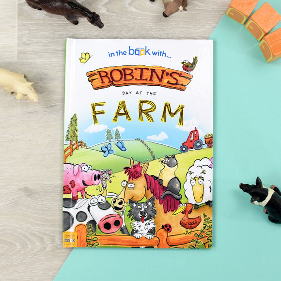 Personalised 'My Day at the Farm' Story Book-Signature-My Day at the Farm - Softback-Poppy Stop