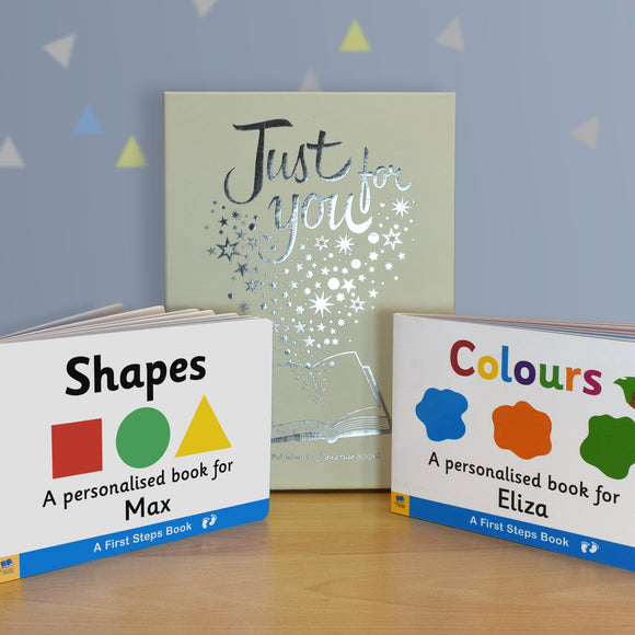 Shapes & Colours Board Book Gift Set-Poppy Stop-Poppy Stop