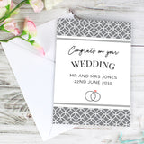 Personalised Couple Congratulations Card-Poppy Stop-Poppy Stop