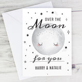 Personalised Over The Moon Card-PMC-Poppy Stop
