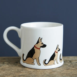 GERMAN SHEPHERD MUG - SWEET WILLIAM DESIGNS-Poppy Stop-Poppy Stop
