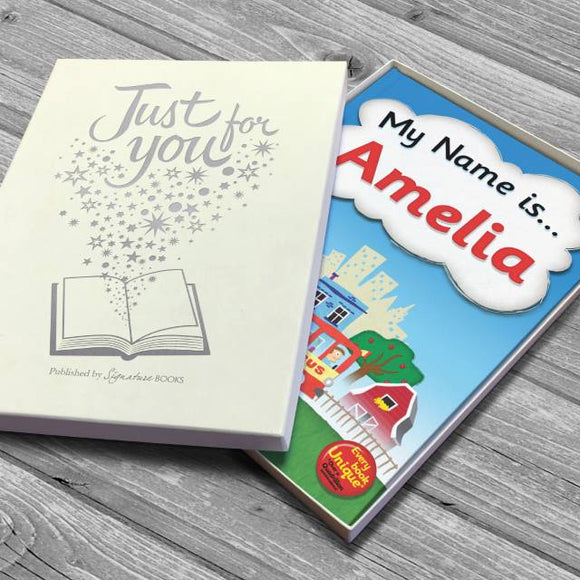 My Name Is… Personalised Book-Poppy Stop-Soft Cover-Poppy Stop