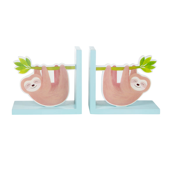 HAPPY SLOTH BOOKENDS-Poppy Stop-Poppy Stop