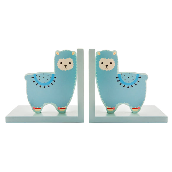 LITTLE LLAMA BOOKENDS-Poppy Stop-Poppy Stop