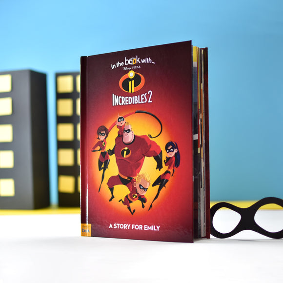 Personalised Disney Incredibles 2 Story Book-Poppy Stop-Incredibles 2 - Softback-Poppy Stop