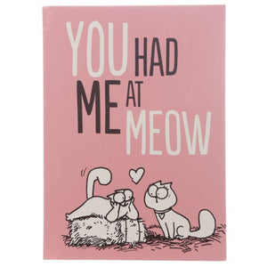 A5 Simon's Cat Notebook - You Had Me At Meow-Poppy Stop-Poppy Stop