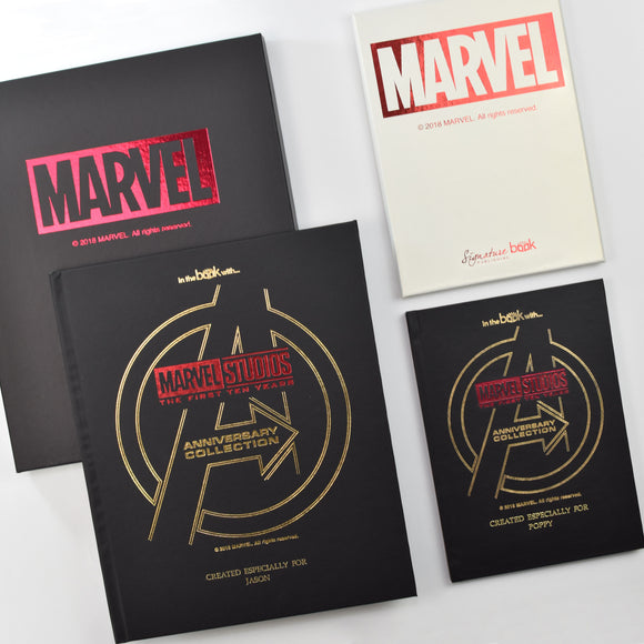 Marvel 10 Year Anniversary Collection - Personalised Gift Set-Poppy Stop-Marvel 10 Year Anniversary Collection - Standard-Poppy Stop