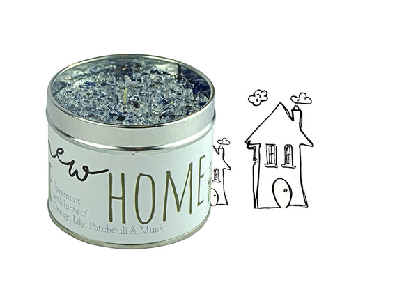 NEW HOME SCENTED CANDLE - SPEARMINT, ORANGE, LILY, PATCHOULI & MUSK-Poppy Stop-Poppy Stop