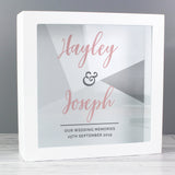 Personalised Wedding Fund and Keepsake Box-Poppy Stop-Poppy Stop