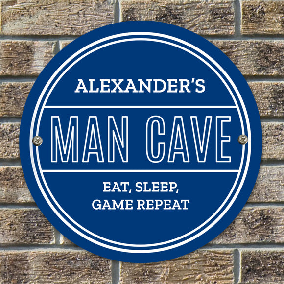 Personalised Man Cave Heritage Plaque-PMC-Poppy Stop