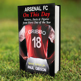 Personalised Arsenal On This Day Book-Poppy Stop-Poppy Stop