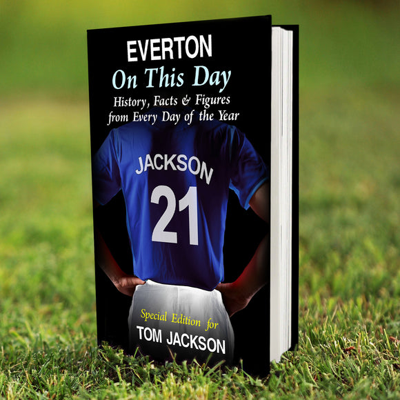 Personalised Everton on this Day Book-Poppy Stop-Poppy Stop