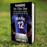 Personalised Rangers on this Day Book-Poppy Stop-Poppy Stop