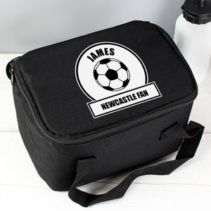 Personalised Football Fan Lunch Bag Personalised Football Fan Lunch Bag PMC poppystop.com