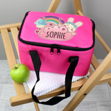 Personalised Cute Bunny Pink Lunch Bag Personalised Cute Bunny Pink Lunch Bag PMC poppystop.com
