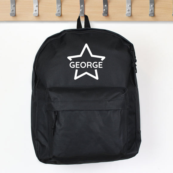 Personalised Star Backpack
