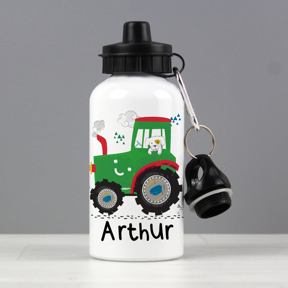 Personalised Tractor Drinks Bottle Personalised Tractor Drinks Bottle PMC poppystop.com