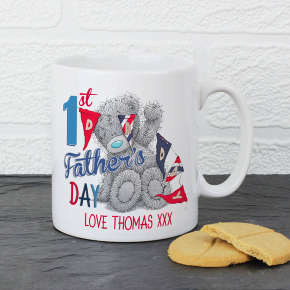 Personalised Me To You 1st Father's Day Mug-PMC-Poppy Stop
