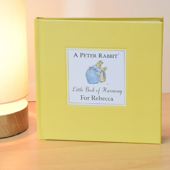 Peter Rabbit's Personalised Little Book of Harmony-Poppy Stop-Poppy Stop