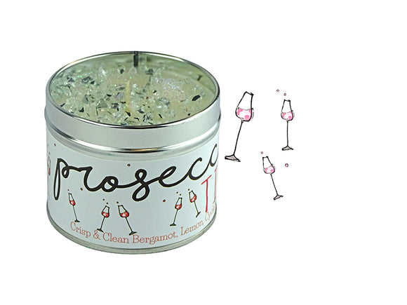 PROSECCO TIME SCENTED CANDLE - BERGAMOT, LEMON, CYCLAMEN & SANDALWOOD-Poppy Stop-Poppy Stop