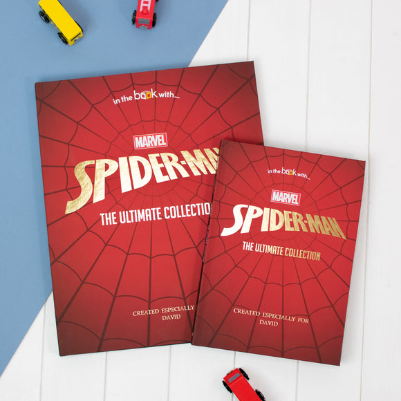 Spider-Man Collection Book - Personalised Gift Set-Signature-Spider-man Collection Book - Deluxe-Poppy Stop