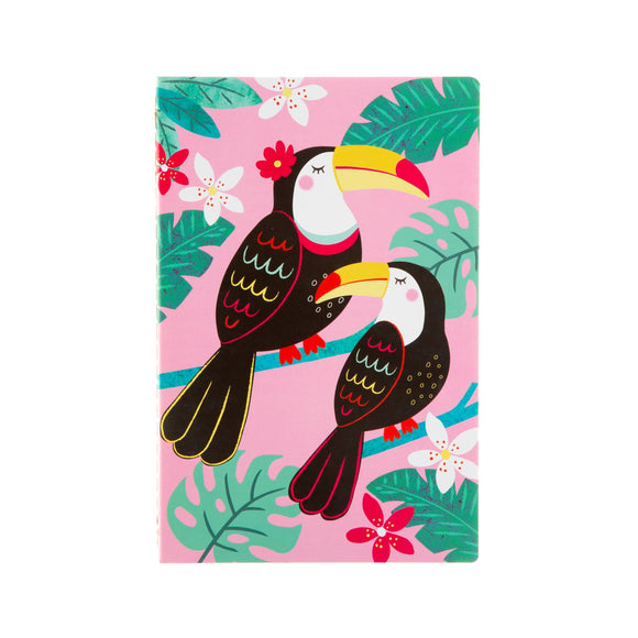 TIKI TOUCAN A5 NOTEBOOK-Poppy Stop-Poppy Stop