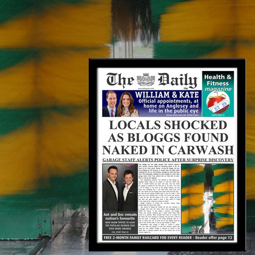 The Daily Naked In Carwash News - Female-Poppy Stop-NEWS-FR_BLACK-Poppy Stop