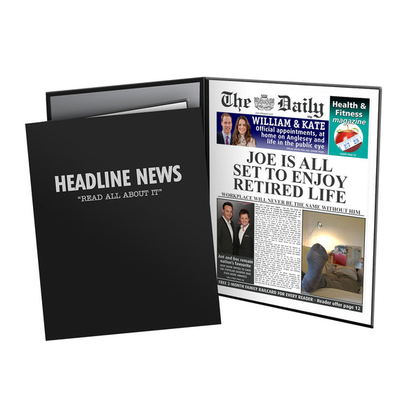 The Daily Retirement News Folder - Male-Poppy Stop-Poppy Stop