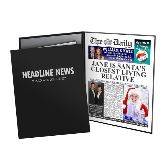 The Daily Santas Closest Relative News Folder - Female-Poppy Stop-Poppy Stop