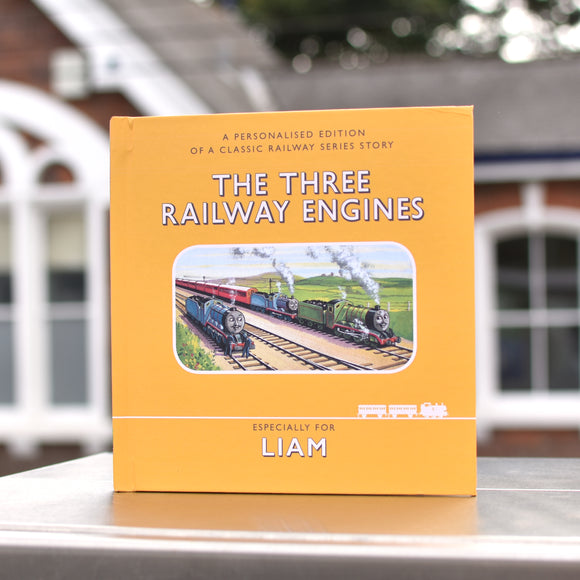 Thomas & Friends - The Three Railway Engines - Personalised Book-Signature-Poppy Stop