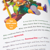 Personalised Toy Story 4 Story Book-Signature-Toy Story 4 - Hardback-Poppy Stop